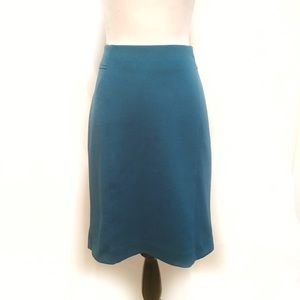 Charter Club Turquoise Blue Pencil Skirt